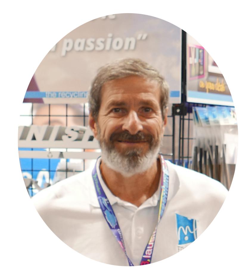 Nicolas - Managing Director medal in frame Italy Srl